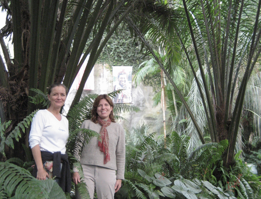 Lone DN and Michelle D at the Eden Project Oil Palm plantation