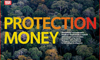 Front cover of protection money report by Greenpeace