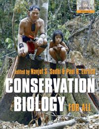 front cover of conservation biology