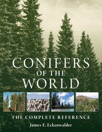 cover of conifers of the world