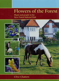 cover of flowers of the forest by clive chatters